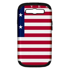 Flag Of Vermont, 1804 1837 Samsung Galaxy S Iii Hardshell Case (pc+silicone) by abbeyz71