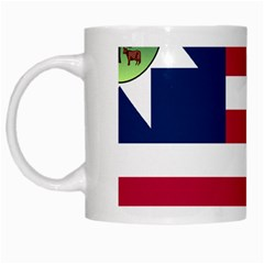 Flag Of Vermont, 1837 1923 White Mugs by abbeyz71