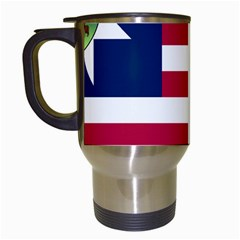 Flag Of Vermont, 1837 1923 Travel Mugs (white) by abbeyz71