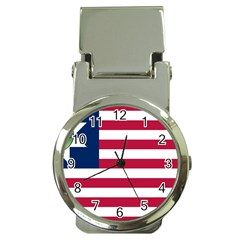 Flag Of Vermont, 1837 1923 Money Clip Watches by abbeyz71