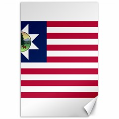 Flag Of Vermont, 1837 1923 Canvas 20  X 30  by abbeyz71