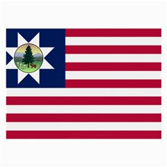 Flag Of Vermont, 1837 1923 Large Glasses Cloth (2 Side) by abbeyz71