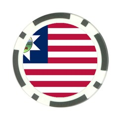 Flag Of Vermont, 1837 1923 Poker Chip Card Guard by abbeyz71