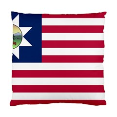 Flag Of Vermont, 1837 1923 Standard Cushion Case (two Sides) by abbeyz71