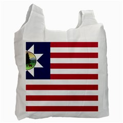 Flag Of Vermont, 1837 1923 Recycle Bag (two Side) by abbeyz71