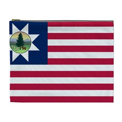 Flag Of Vermont, 1837 1923 Cosmetic Bag (xl) by abbeyz71