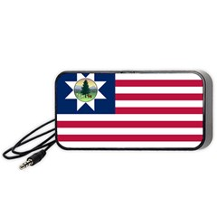 Flag Of Vermont, 1837 1923 Portable Speaker by abbeyz71