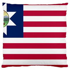 Flag Of Vermont, 1837 1923 Large Cushion Case (two Sides) by abbeyz71
