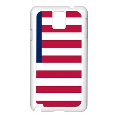 Flag Of Vermont, 1837 1923 Samsung Galaxy Note 3 N9005 Case (white) by abbeyz71