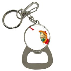 Flag Map Of Florida  Bottle Opener Key Chains by abbeyz71