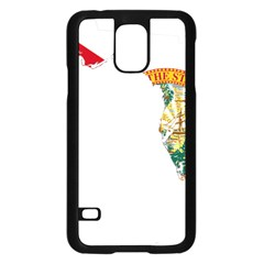 Flag Map Of Florida  Samsung Galaxy S5 Case (black) by abbeyz71