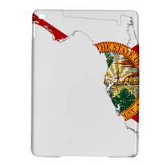 Flag Map Of Florida  Ipad Air 2 Hardshell Cases by abbeyz71