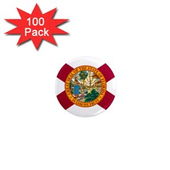 Flag Of Florida 1  Mini Magnets (100 Pack)  by abbeyz71