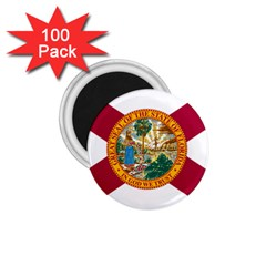 Flag Of Florida 1 75  Magnets (100 Pack)  by abbeyz71