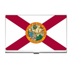 Flag Of Florida Business Card Holder by abbeyz71