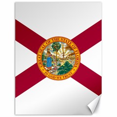Flag Of Florida Canvas 18  X 24  by abbeyz71