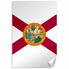 Flag Of Florida Canvas 24  X 36  by abbeyz71