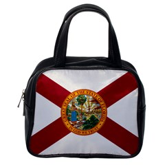 Flag Of Florida Classic Handbag (one Side) by abbeyz71