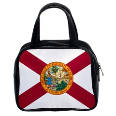 Flag Of Florida Classic Handbag (two Sides) by abbeyz71