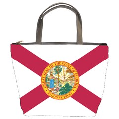 Flag Of Florida Bucket Bag by abbeyz71