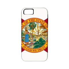 Flag Of Florida Apple Iphone 5 Classic Hardshell Case (pc+silicone) by abbeyz71