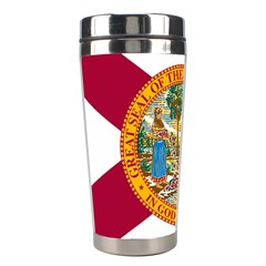 Flag Of Florida Stainless Steel Travel Tumblers by abbeyz71