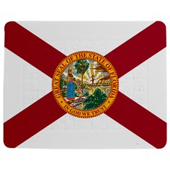 Flag Of Florida Jigsaw Puzzle Photo Stand (rectangular)