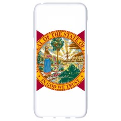 Flag Of Florida Samsung Galaxy S8 White Seamless Case by abbeyz71