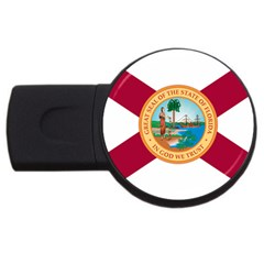 Flag Of Florida, 1900 1985 Usb Flash Drive Round (4 Gb) by abbeyz71
