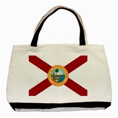 Flag Of Florida, 1900 1985 Basic Tote Bag (two Sides) by abbeyz71
