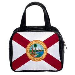 Flag Of Florida, 1900 1985 Classic Handbag (two Sides) by abbeyz71