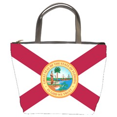 Flag Of Florida, 1900 1985 Bucket Bag by abbeyz71