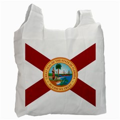 Flag Of Florida, 1900 1985 Recycle Bag (one Side) by abbeyz71
