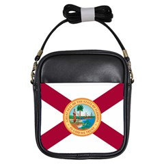 Flag Of Florida, 1900 1985 Girls Sling Bag by abbeyz71