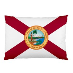Flag Of Florida, 1900 1985 Pillow Case (two Sides) by abbeyz71