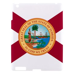Flag Of Florida, 1900 1985 Apple Ipad 3/4 Hardshell Case by abbeyz71