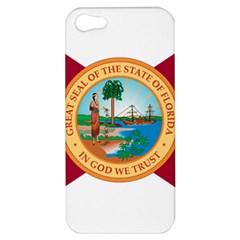 Flag Of Florida, 1900 1985 Apple Iphone 5 Hardshell Case by abbeyz71