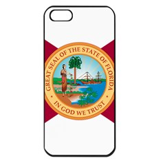 Flag Of Florida, 1900-1985 Apple Iphone 5 Seamless Case (black) by abbeyz71