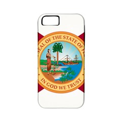 Flag Of Florida, 1900 1985 Apple Iphone 5 Classic Hardshell Case (pc+silicone) by abbeyz71