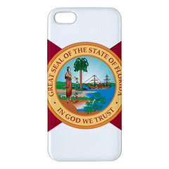 Flag Of Florida, 1900 1985 Iphone 5s/ Se Premium Hardshell Case by abbeyz71