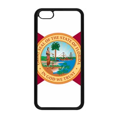 Flag Of Florida, 1900 1985 Apple Iphone 5c Seamless Case (black) by abbeyz71
