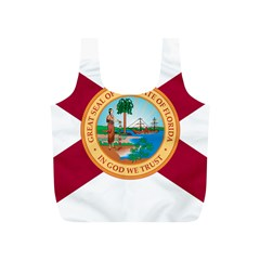 Flag Of Florida, 1900 1985 Full Print Recycle Bag (s) by abbeyz71