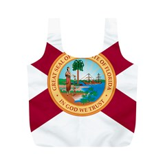 Flag Of Florida, 1900 1985 Full Print Recycle Bag (m) by abbeyz71