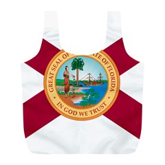 Flag Of Florida, 1900 1985 Full Print Recycle Bag (l) by abbeyz71