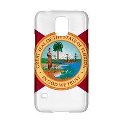 Flag Of Florida, 1900 1985 Samsung Galaxy S5 Hardshell Case  by abbeyz71