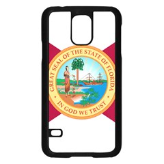 Flag Of Florida, 1900 1985 Samsung Galaxy S5 Case (black) by abbeyz71
