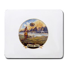 Flag Of Florida, 1868 1900 Large Mousepads by abbeyz71