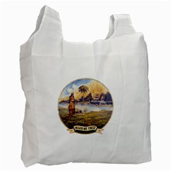 Flag Of Florida, 1868 1900 Recycle Bag (two Side) by abbeyz71