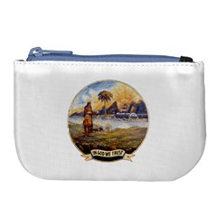 Flag Of Florida, 1868 1900 Large Coin Purse by abbeyz71