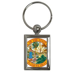 Great Seal Of Florida  Key Chains (rectangle)  by abbeyz71